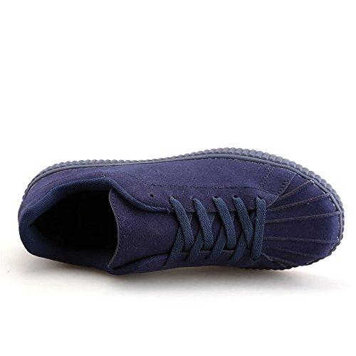 Sportive retr Stile con Basse Scarpe Casual Moda Sneaker Uomo wY48v7