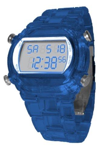 adidas Originals ADH6507 - Reloj digital de cuarzo unisex, correa de caucho color azul: Amazon.es: Relojes