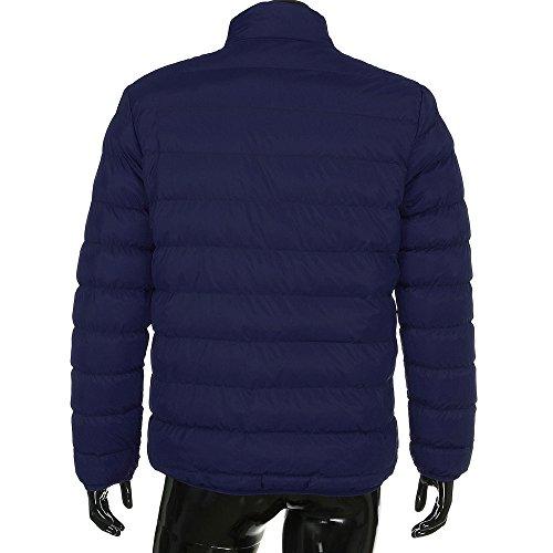 4 Caldo Giacca Cappotto Colori Capispalla Parka Blu Uomo Invernale Sottile Sportivo Casual gHnnSzqw