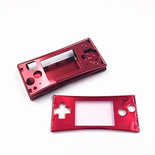 Faceplate Cover Replacement Front Shell Housing Case for Nintendo Game Boy Micro GBM - Housing Replacement Faceplate