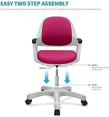 Tremendous Sitrite Kids Desk Chair Children Height Control Child Study Adjustable Seat Customarchery Wood Chair Design Ideas Customarcherynet