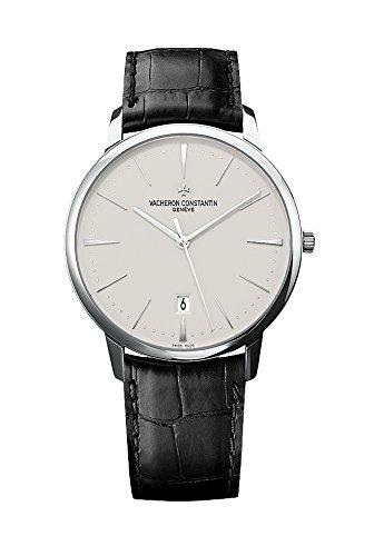Vacheron Constantin Patrimonio contemporáneo Plata Dial Mens Reloj 85180000 G-9230