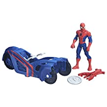 MARVEL Spider-Man Sm with Street Racer Figure