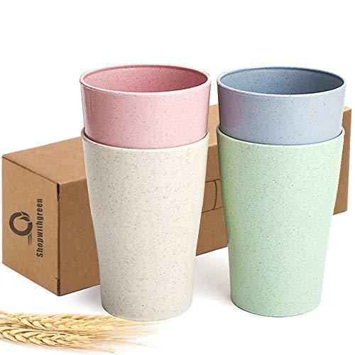 Shopwithgreen Wheat Straw Unbreakable