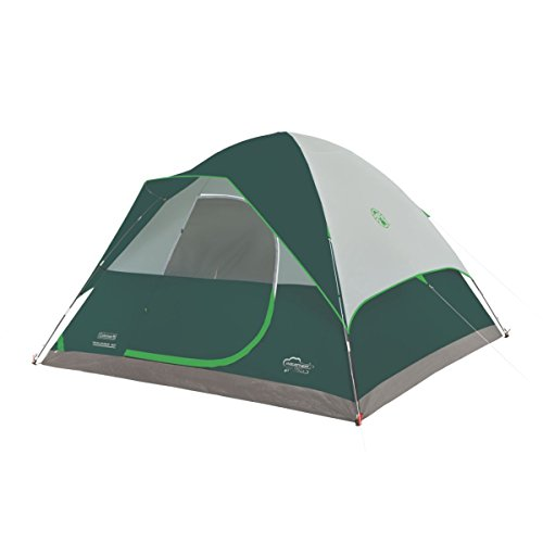 Coleman Maumee WeatherTec Waterproof 8 Person Family 12' x 11' Dome Camping Tent - Coleman Tent 12x12