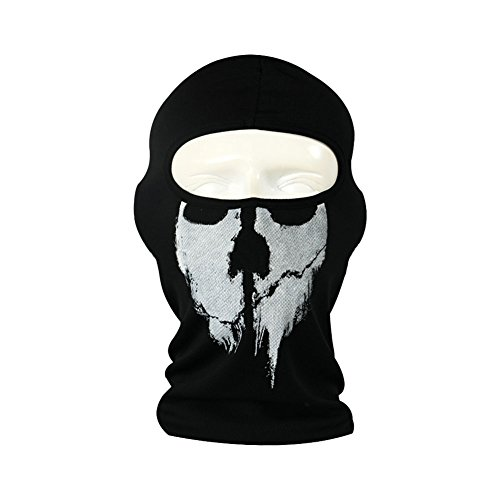 SKULL Mask Headwear Riding Cycling Sport Cap Hap Motorcycle Balaclava Hood