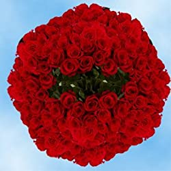 500 Red Roses with enough classic flair in their bright red petals to warm the heart, for Valentine's Day