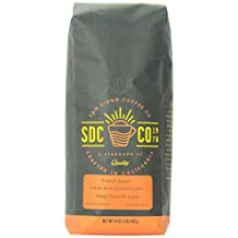 San Diego Coffee French Roast, Whole Bean Roasted Coffee, 32-Ounce (2-Pound)
