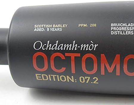 octomore bruich laddich Edition 7.2Escocés Barley 208ppm con Regalo del paquete, 700 ml