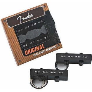 Fender Jazz Bass Neck - Fender 099-2123-000 Original Jazz Bass Jbass Pickup Set of 2 Neck and Bridge