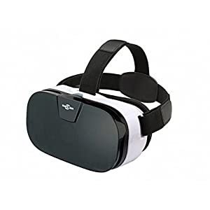 SARLAR 3D VR Headset, Virtual Reality Goggles Movies Video Games Viewer for IOS, Android, Microsoft & PC phones Series within 4.0 - 6.5 Inch