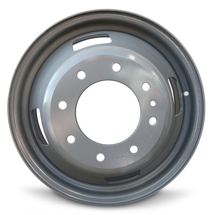 Ford F350SD DRW Dually (05-16) 17 Inch 8 Lug Replacement Wheels Rims 17x6.5 Inch 8 Lug 142mm Center Bore 143mm Offset - Set of 6 by Road Ready Wheels