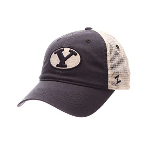 NCAA Byu Cougars Adult Men University Relaxed Cap, Adjustable, Team Color/Stone