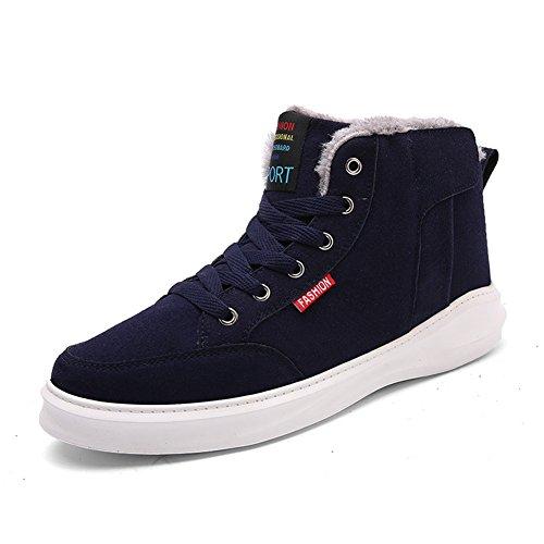 AILU Men's Snow Boots 7777-Blau