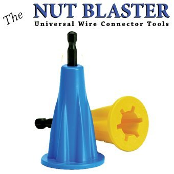 Rack-A-Tiers 72101 The Nut Blaster XL - Universal Wire Connector Tool