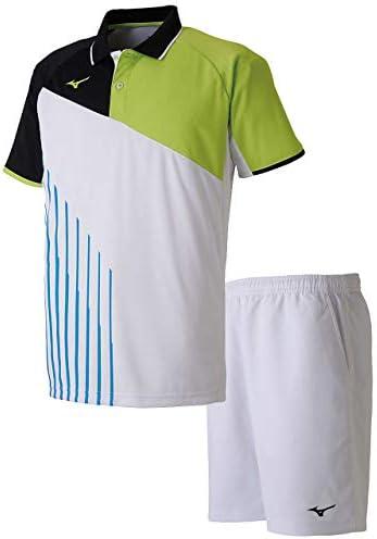 ゲームシャツ&ゲームパンツ上下セット(ホワイト/ホワイト) 62JA9003-73-62JB7001-01