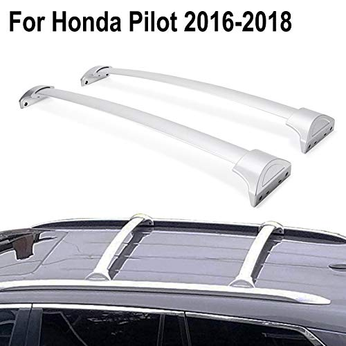 Bars Honda Pilot - ALAVENTE Roof Rack Crossbars Cargo Bars Compatible for Honda Pilot 2016 2017 2018 with Factory roof Side Rails
