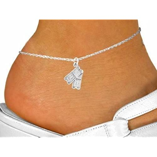 """""""Two Tickets"""" Charm & Anklet"""