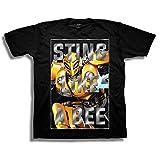 Transformers Little Bumblebee Movie Sting Like a Bee Boys Tee, Black 7