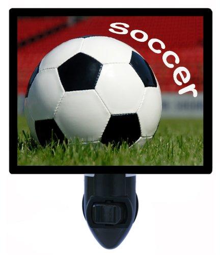 Sports Night Light - Soccer by Night Light Designs