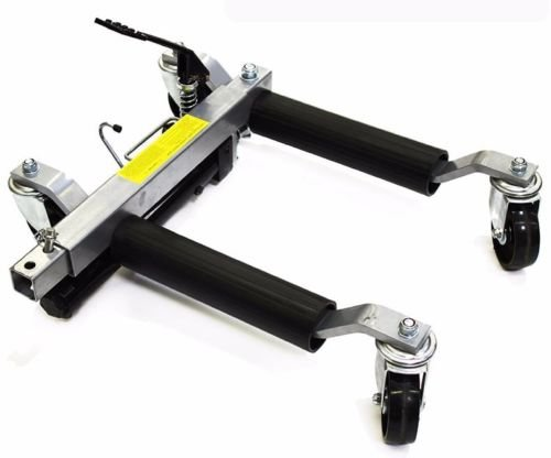 SKEMIDEX---2pc 1500lb HYDRAULIC Positioning Car Wheel Dolly Jack Lift hoists Moving Vehicle And moving dollies moving dolly lowes moving dolly rental walmart dolly hand truck costco hand truck by SKEMIDEX (Image #2)