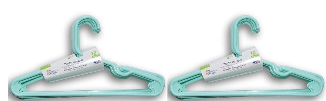 Mainstays 20 piece Children's Hanger, Spearmint
