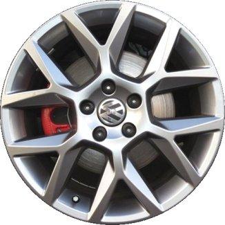 2006-2016 - VOLKSWAGEN - GOLF-GTI - 18x7.5 - 5-112 - 5 Y-SPOKE - FACTORY OEM WHEEL RIM-REMANUFACTURED (Volkswagen Gti Rims compare prices)