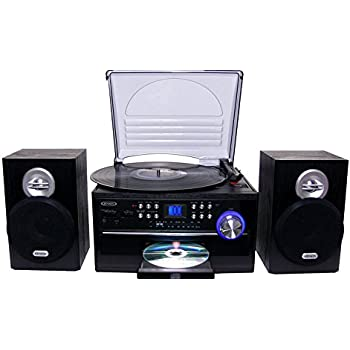 Delightful Jensen All In One Hi Fi Stereo CD Player Turntable U0026 Digital AM