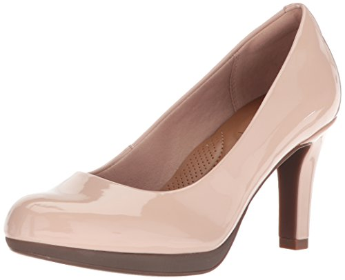 CLARKS Women's Adriel Viola Dress Pump, Dusty Pink, 12 M US