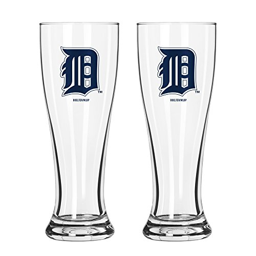 (MLB Detroit Tigers Game Day Pilsner, 16-ounce, 2-Pack)