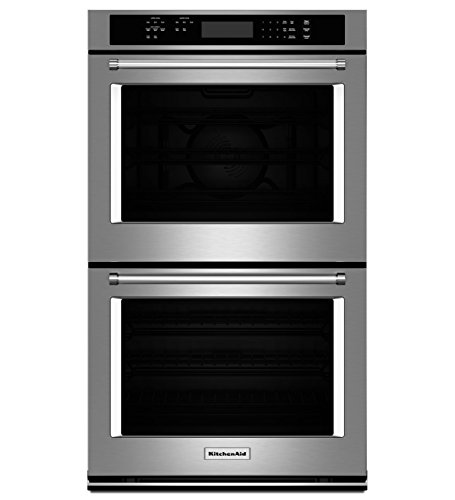 "KitchenAid KODE300ESS 30"" Double Electric Wall Oven with ..."