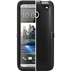 OtterBox Defender Series para Protección de HTC uno M7 Caso Funda de 3 Capas Negro 77-26.377