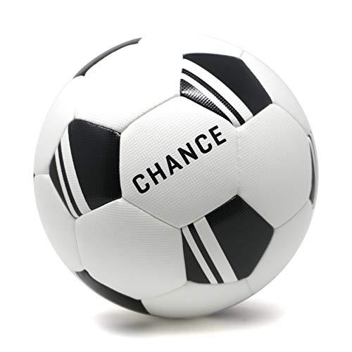 Chance Soccer Ball : Premium Outdoor/Indoor Soccer Ball (Size 4 Kids/Youth, Soccer Ball Size 5 Adult/PRO) (5, -