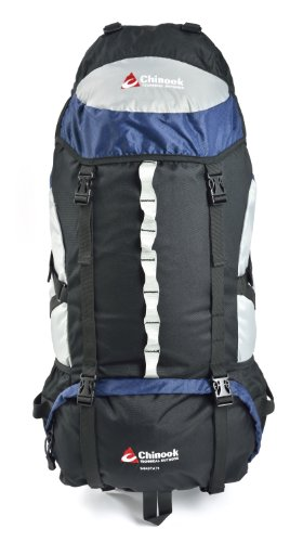 Chinook Shasta Internal Frame Expedition Pack, Blue, - Outlets Shasta
