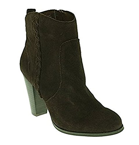 Boot Suede Ankle Very Volatile Toe Brown Round Wright Women z16PxqH0
