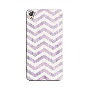 Cover It Up - Purple Bubblegum Print Xperia M4 Hard Case