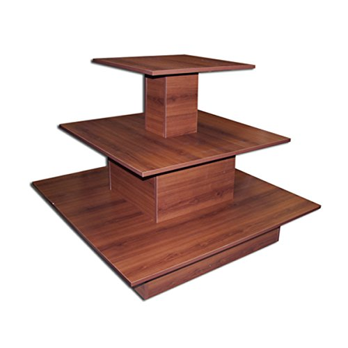 3 Tier Table Square Designer Store Boutique Clothing Footwear Retail Display Cherry New by Bentley's Display