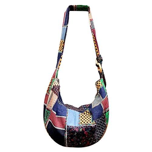 Bag Floral 8 Hippie Bohemian Funbase Hobo Sling Adjustable Crossbody Messenger 8ORxPwnqv