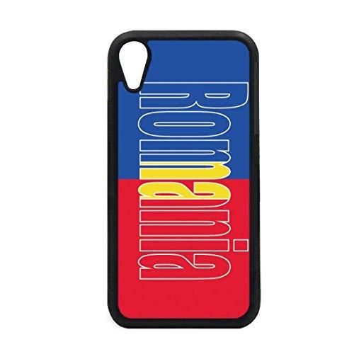 DIYthinker Carcasa para iPhone XR y iPhone con el Nombre de la Bandera de Rumanía