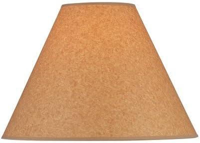 Lite Source CH1192-16 16-Inch Lamp Shade, Kraft Paper