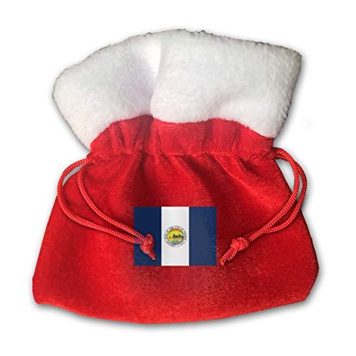CYINO Personalized Santa Sack,Flag of Toledo Ohio Portable