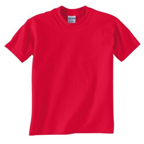 Gildan Dryblend Youth T-Shirt, Red, Medium (Gildan Tshirt Youth)