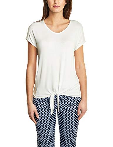 off Street Mujer Camiseta Elfenbein Mangas One Sin 10108 Para White 7rB70xX