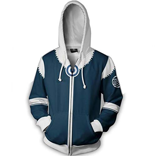 The Last Airbender Costumes For Adults (NSOKing Hot Anime Avatar The Last Airbender Katara Cosplay Costume Hoodie Jacket (Small,)