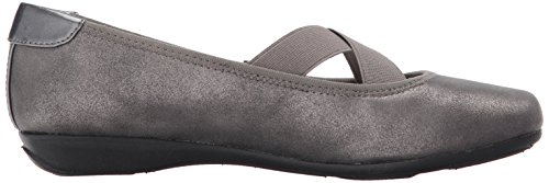 Anne Klein Women's Ulisa Synthetic Ballet Flat Pewter Multi official online clearance best place Manchester cheap online E4JmdUS