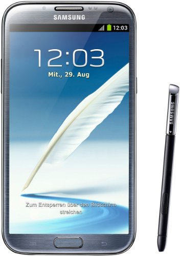 Samsung Galaxy Note II N7100 16GB Gray-Unlocked International Phone (New Galaxy Mega Unlocked Samsung)