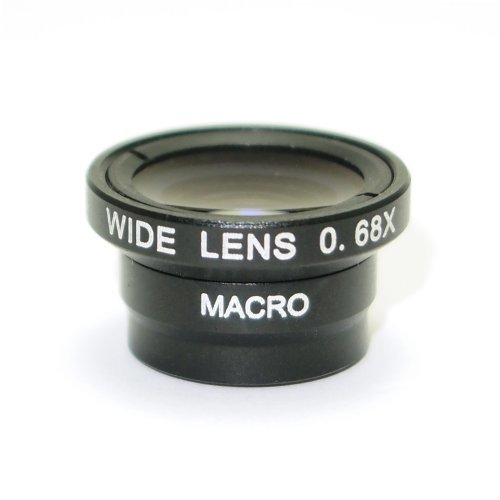 Wide Macro Ultra Zoom Lens x 0 68 System For Smartphone (Black)の商品画像