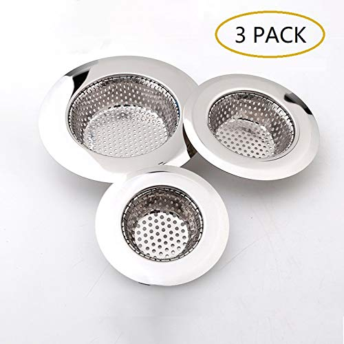 3 Pack - Sink Strainer for Bathroom and Kitchen(2.75