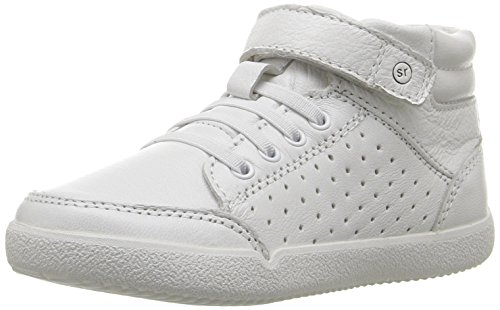 Off Leather Footwear (Stride Rite  Stone Sneaker, White, 7 M US)