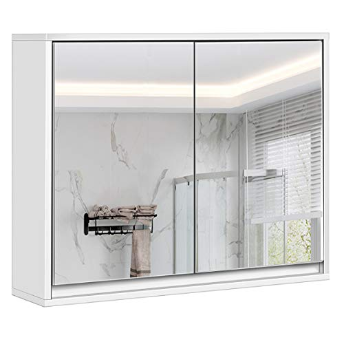 Park Harbor PHVL2102PC Como 2 Light 16-5 8 Wide Bath Bar with Frosted Glass Shades